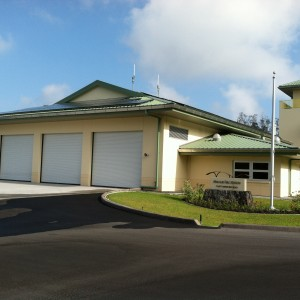 Makalei Fire Station North Kona, Hawaii